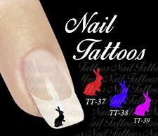 Nail Art Hase Tiere Ostern Tattoo 20 St. Auswahl TT-36