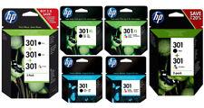 Original HP 301 / 301xl Druckerpatronen CH563EE CH564EE CH561EE CH562EE N9J72AE