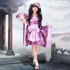[wamami]Adult Fashion Japanese Girl Maid uniform Cosplay Lolita Dress Purple