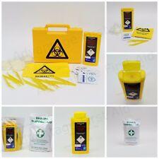 risques biologiques / objets pointus ou tranchants / aiguille élimination kit.