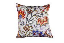 100% Cotton Cushion - Floral - 45 x 45 cm