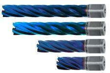 Karnasch Kernbohrer Stahl Edelstahl Weldon, Schnitttiefe 30 - 110mm Blue Line