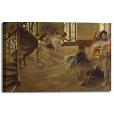 Degas ballerine design quadro stampa tela dipinto telaio arredo casa