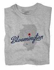 Bloomington Illinois IL Ill T-Shirt MAP