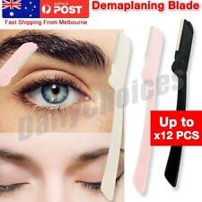 3 Pk FACIAL RAZORS eyebrow razor Shave Hair & Exfoliate your Face ladies shaver