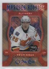 2007 O-Pee-Chee Marquee Rookies Silver 515 David Moss Calgary Flames Hockey Card