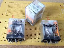 3 A 4PDT Non-Verrouillage Pcb Relais 120 V AC Or Plaqué Argent Contacts Multi Qté