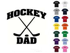 Hockey Dad T-Shirt #262 - Free Shipping