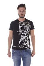 T-shirt Maglietta Versace Jeans T-Shirt Sweatshirt % Sole Uomo Nero B3GQA792-899