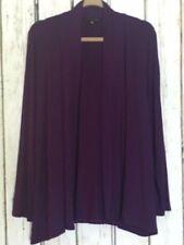 XL/1X/2X/3X New Violet Purple Cardigan Sweater Top Jacket Blazer Tee Knit