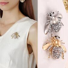 1/2xFantastic Pin Chic Rhinestone Animal Brooch Jewelry Cute Bee Brooches Pins..