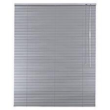 Aluminium Jalousie Alu Jalousette Rollo Fensterjalousie - Höhe 230 cm silber