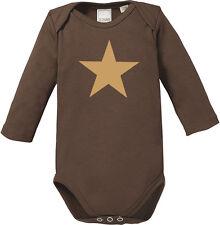 CREME STAR Chocolate Langarm Baby Body, braun