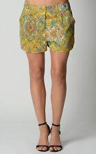Sportsgirl Ladies Fashion Multi Print Shorts size 8 10 XS Small Colour Multi