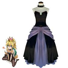 Bowsette Princess Bowser Peach Teresa Boos Cosplay Costume Womens Cosplay Custom