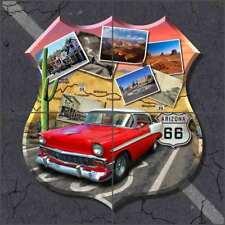 Route 66 Tile Backsplash Todd Arizona Art Ceramic Mural POV-JTA005