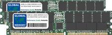 4GB 2x2GB DDR 333MHz PC2700 184-PIN ECC RDIMM REGISTRATA SERVER DI MEMORIA RAM KIT