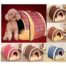 Dog Cat Bed House Mat Bedding Basket Kennel Washable Warming UK