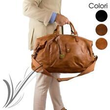 398e797596 Borsone uomo da viaggio con manici tracolla borsa vintage palestra dottore  voli