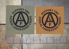 Animal Liberation Front Patch Human Rights Vegan Vegetarian ALF Punk ELF Welfare