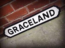Elvis Presley Inspired Graceland Street Sign Road Sign