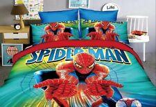 Spiderman Copri Piumone Copripiumone Lenzuolo Federa Duvet Cover SPIDUV11 P