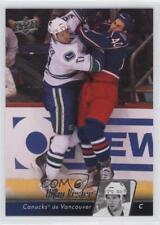 2010-11 Upper Deck French #8 Ryan Kesler Vancouver Canucks Hockey Card