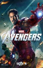 Avengers Iron Man Robert Downey Jr. 35mm Film Cell strip very Rare var_a