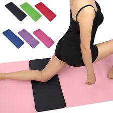 "Yoga Knee Pad Cushion (24x10"") Anti-Slip 15mm Thick Workout Exercise Travel Mat"