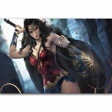 58470 DC Wonder Woman Gal Gadot Comic Wall Print Poster Affiche