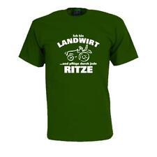 Soy agricultor..., Fun t-shirt, funshirts, Cool t shlrt proverbios (fsa039)
