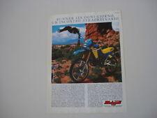 advertising Pubblicità 1987 MOTO MALAGUTI RUNNER 125