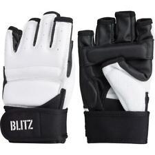 Blitz Taekwondo Sparring Gloves - Viper WTF Style Lightweight Gloves White