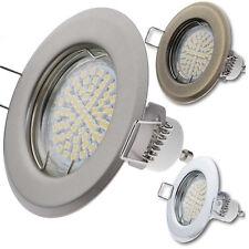 Einbau-Strahler 230V Spot GU10 MR16 Einbaurahmen rund Einbauleuchte LED Aura