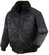teXXor OSLO Pilotenjacke 4in1-Jacke schwarz Winterjacke Arbeitsjacke