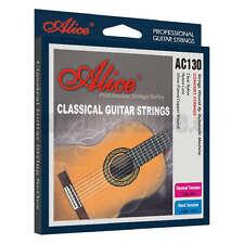 Conjunto de cuerdas para guitarra clásica 6 Plata Wound Normal/Alta Tensión acústica de nylon