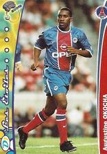 1999-2000 DS France Foot 2000 Base Card Paris Saint Germain (168-183) Variations