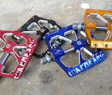 NEW! Aluminum MTB DH Road XC Bike 3 Bearings Pedals flat Bicycle Pedal 4.6plus