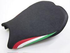 D07 Ducati 848 1098 1198 Seat cover Italian flag colours- FRONT