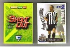Disparar fuera de 2003/04 (03/04) tarjetas de Fútbol de espalda verde: diversas W a los equipos N