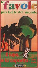 Il lupo e la capretta e altre favole (0) VHS Mondadori  - NEW cellophanata