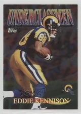 1997 Topps Underclassmen #U6 Eddie Kennison St. Louis Rams Football Card