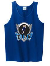 "Dirk Nowitzki Dallas Mavericks ""Logo Pic"" TANK-TOP"