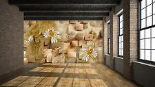3D Golden Lotus Marble Art 3577 Wall Paper Wall Print Decal Wall AJ WALLPAPER CA