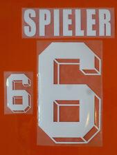 Set Flock Nameset home Trikot jersey shirt Niederlande Netherlands elftal 1992