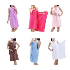 Femme Serviette Bain Robe Peignoir Camisole Microfibre Séchage Rapide Souple NF