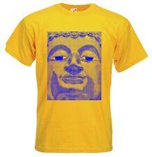 Buddha Blu T-shirt BUDDISTI Buddismo meditazione yoga tibetano-Scelta Di Colore