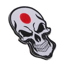 Brassard de broderie de drapeau de patch de crâne emblème militaire