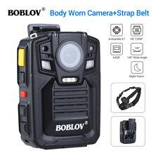 Ambarella 1296P 64GB Personal Body Worn Camera 140° Video Guard + Shoulder Strap