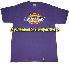 Dickies Mens 4101 DKS460 MP Classic Corporate Logo T-Shirt Mid Purple New